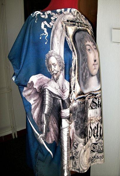 Fabric by Hyndus Sid Art. cz