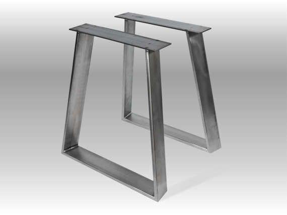 """28"""" DARGO 100.20 Furniture Legs, Metal Table Base, Height 26"""" - 32"""" SET(2)"""