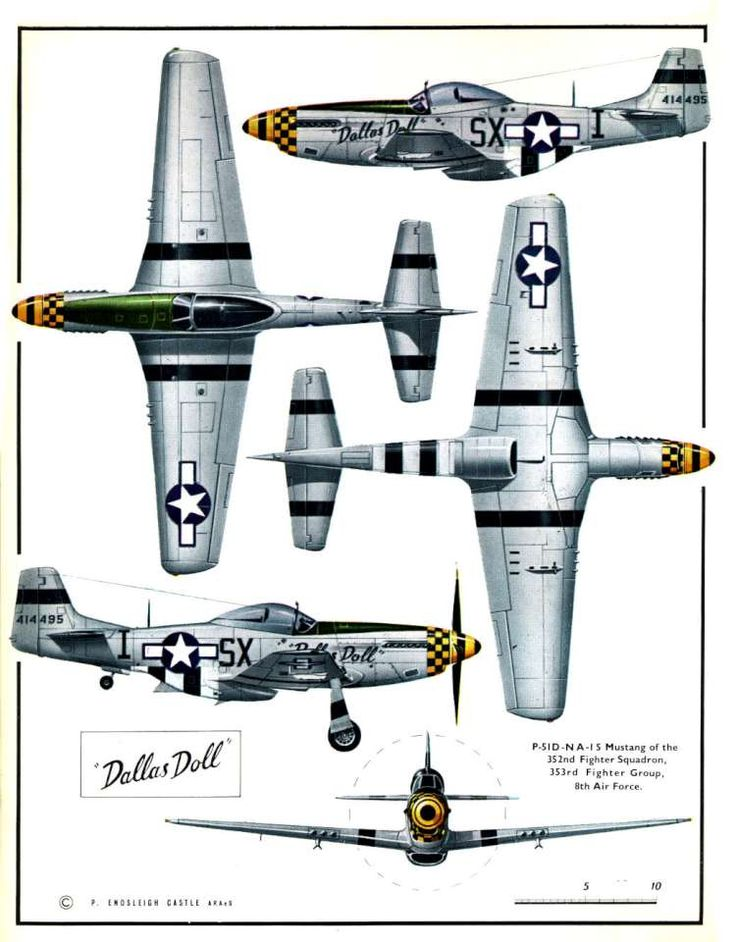 North American P-51D Mustang (8) Page 02-960