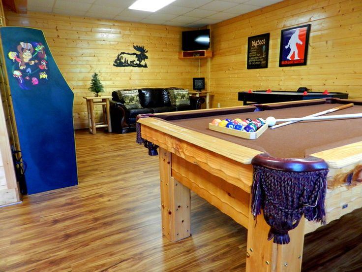 ... Pigeon Forge Luxury Cabin Rental By Thebigfootlodge. See More. Game  Room At The Bigfoot Lodge!