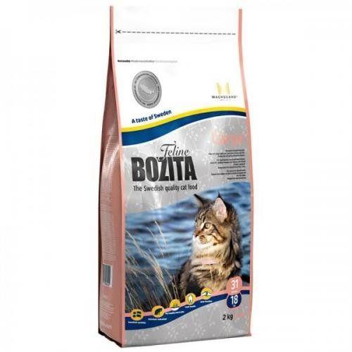 Aus der Kategorie Trockenfutter  gibt es, zum Preis von EUR 29,45  <br /><br />Alleinfuttermittel für Katzen<br /><br />Bozita Feline Large ist ein komplett ausgewogenes Alleinfutter für wachsende und erwachsene Katzen. Die Zusammensetzung und die Kroketten des Futters eignen sich besonders für Katzen großer Rassen und für Katzen, die schneller fressen.<br /><br />Das Futter ist auch für langhaarige Katzen geeignet und für Katzen mit empfindlicher Haut und Fell.<br />Skandinavischer…