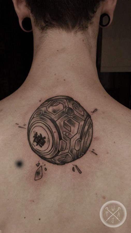 #tattoo #zenyatta #overwatch #overwatchtattoo #videogametattoo #gamestattoos #overwatchtattoos #senyattaglobe #ow #overwatchart #wobbajack