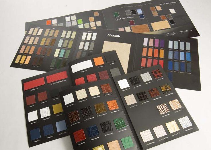 Cartelle Colori - Centro Campionari #cartelle #colori #campionario #campionari #cartellecolori #colors #leather #arredo #colorcard #palette #handmade