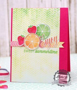 Sweet Summertime - Betsy Veldman (PTI MIM Still Life: Summer)