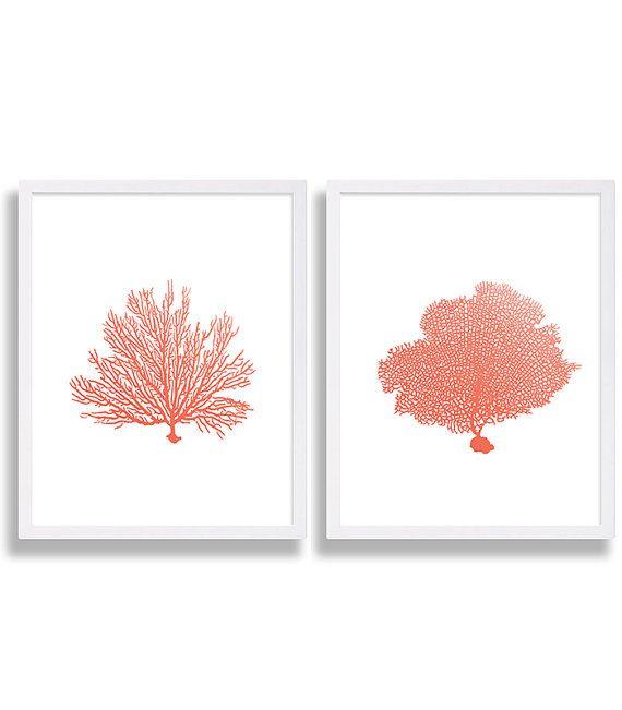 Best 25+ Coral wall art ideas on Pinterest | Hallway wall decor ...