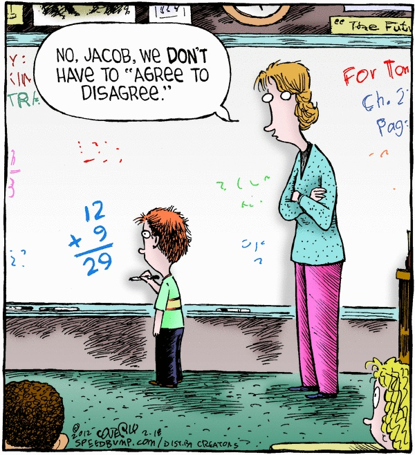 "Math, as my kids are learning it.... ""What do you mean, you guys aren't learning long division?"""