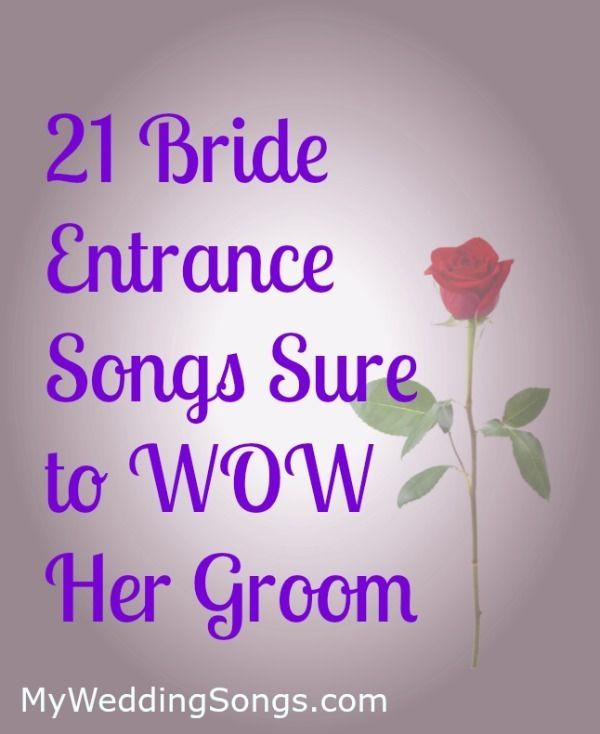 Our List Of Bride Entrance Songs Are Sure To Let Grooms Know How Much He Is Country Wedding