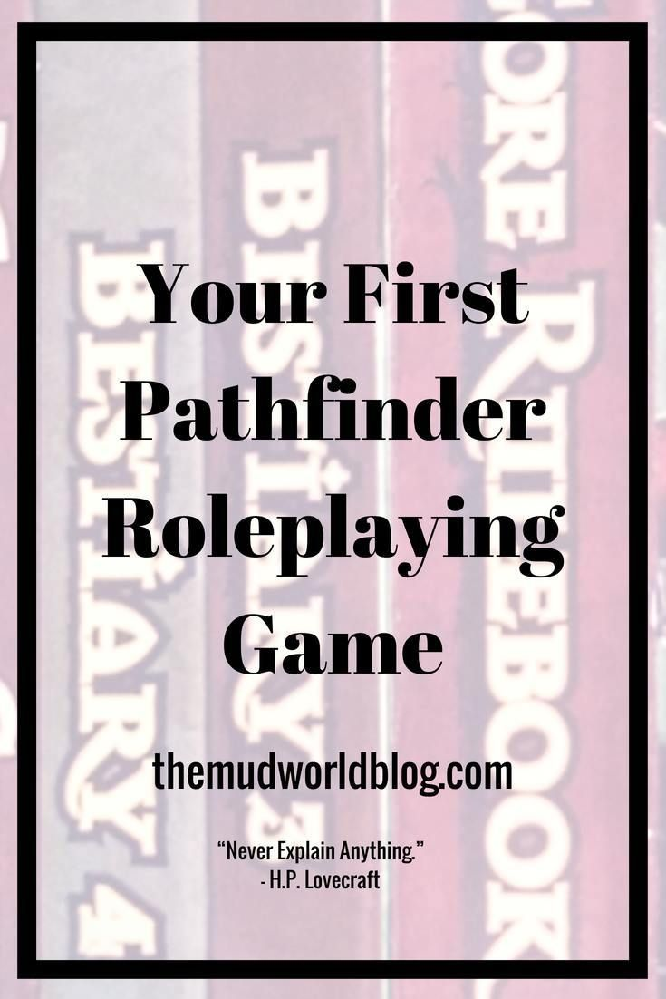How To Start Your Pathfinder Roleplaying Master Ideas For Beginners A Great Way Get Started Playing Tabletop