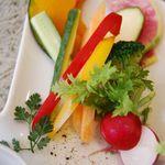 romantic diner loco - 料理写真:採れたて野菜のバーニャカウダー