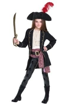 Girl's Pirate Costumes - Kid's, Toddler Pirate Girl Costume