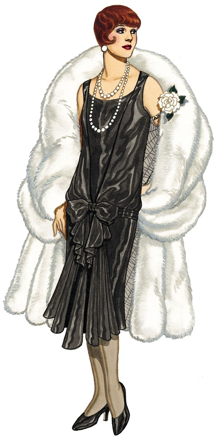 1920 Illustration Fashion Sketches Pinterest The Rich Fashion Illustrations And 1920 Style