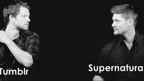 Le jour du final de la saison 12 de Supernatural.