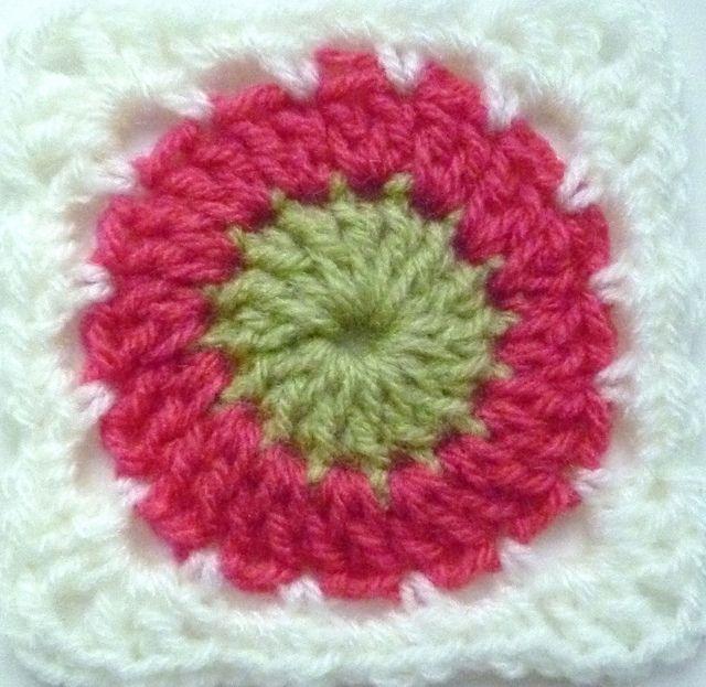 Mejores 18 imágenes de Granny squares en Pinterest | Cuadrados de la ...