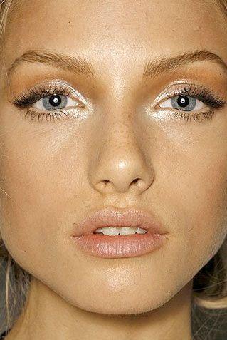 как подчеркнуть глаза без макияжа