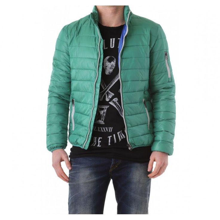 525 Miesten vihreä takki