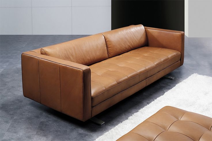 Sorano Leather Sofa by Beyond Furniture. See more at www.qualityfurniturecenter.com
