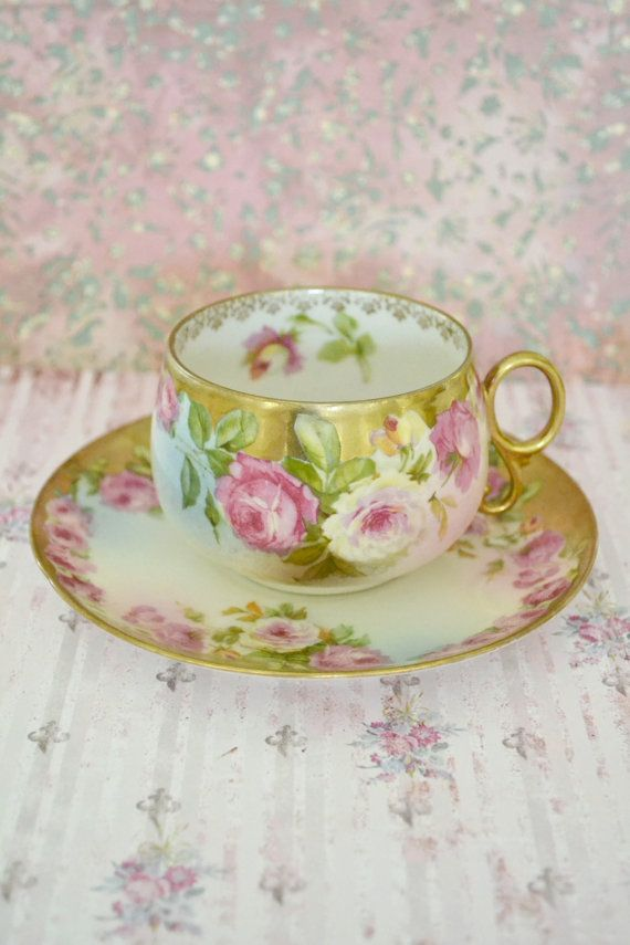 Royal Vienna Teacup and Saucer