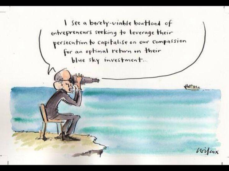 Australian views on refugees