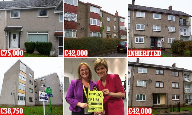 Hypocrisy of SNP MP Hypocrisy of SNP MP @lisacameronsnp with £630,000 property empire!