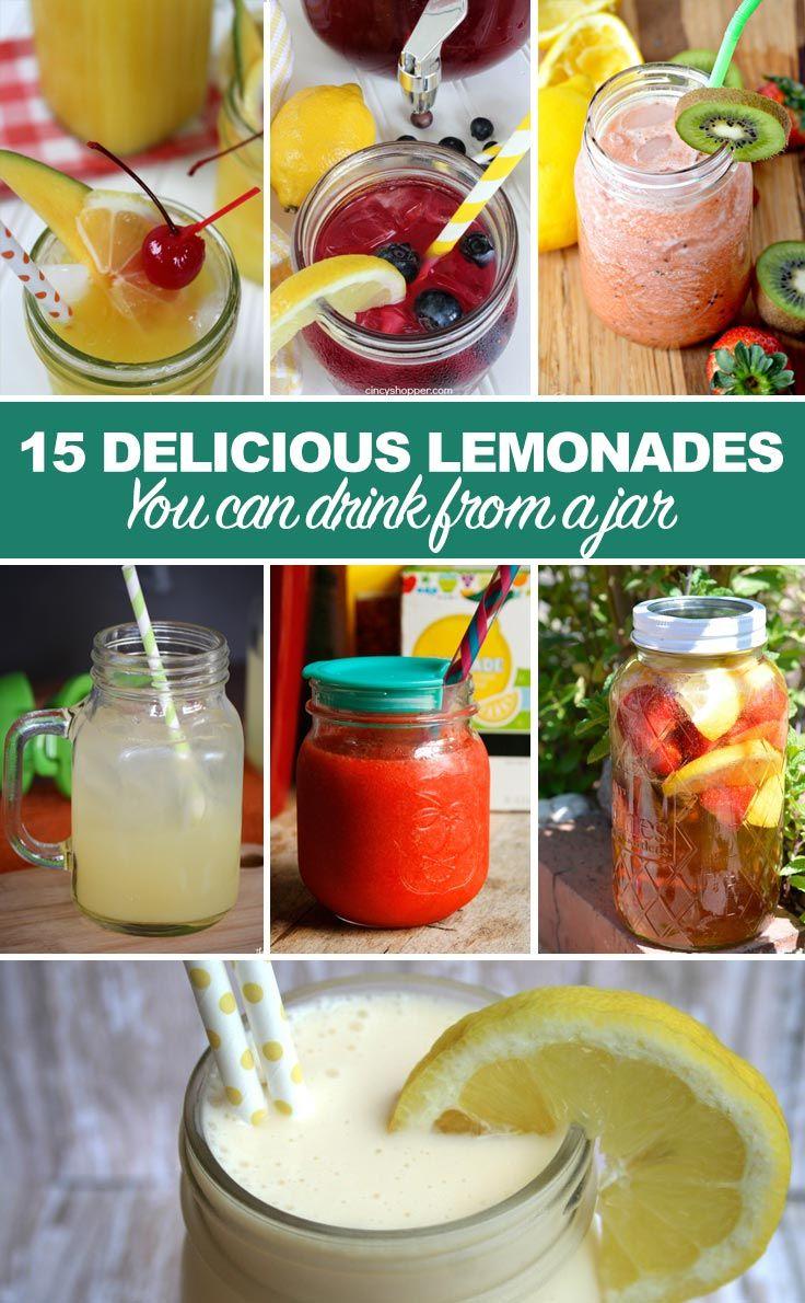 Crafts with Jars: Mason Jar Lemonade Recipes