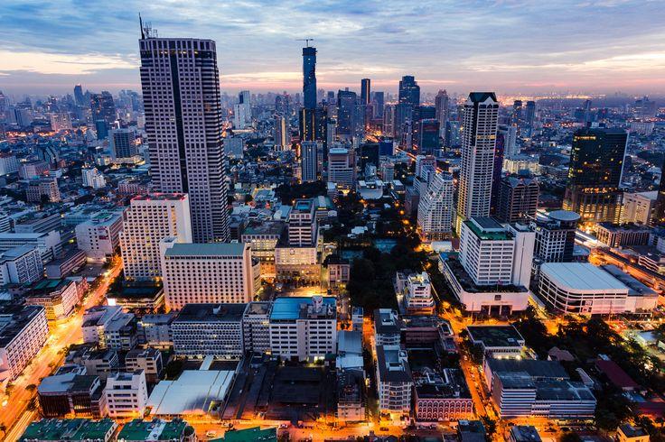 Bangkok Sunrise - Location | 53rd floor of the Lebua State Tower