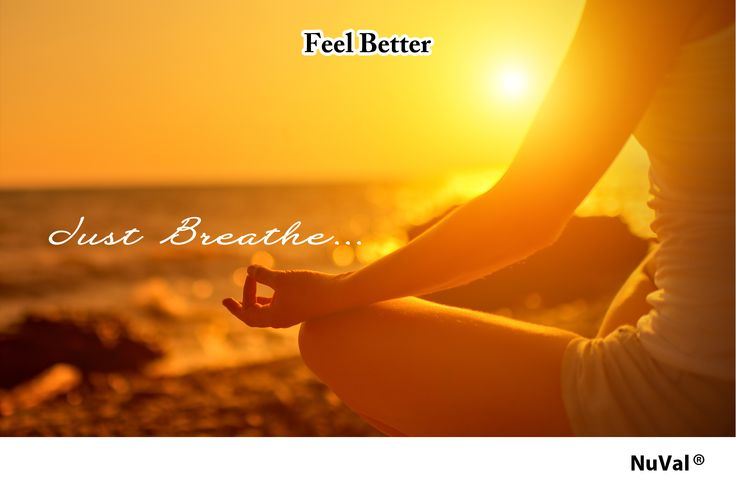 Deep breathing lowers your body's stress hormones and reduces anxiety making a more emotionally balanced you.  www.nuval.com
