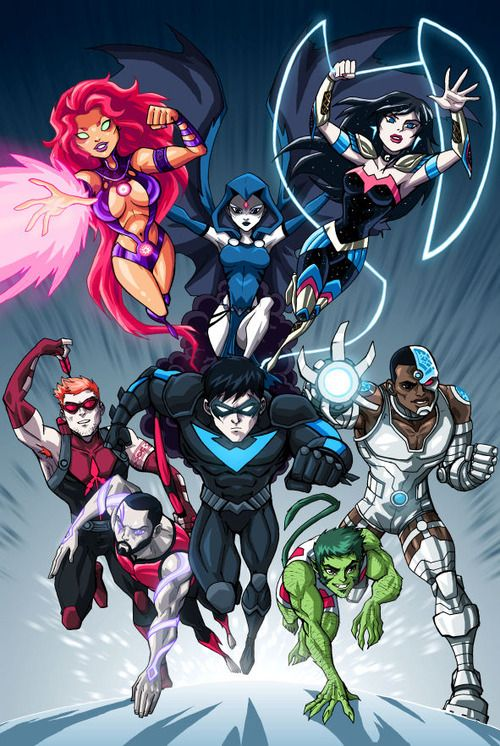 Think, Ultimate teen titans