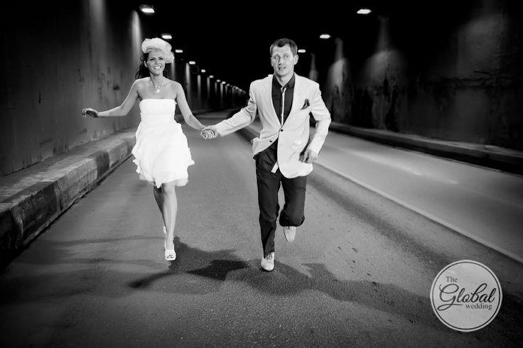 Wedding photography. Идея для свадебной фотосессии