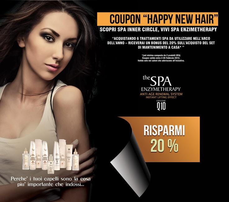 Coupon Happy New Hair | SPA Inner Circle - Saloni certificati sulla ricostruzione dei capelli