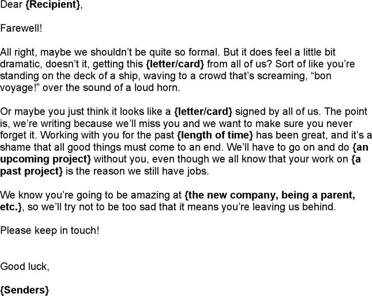 The 25+ best Goodbye letter to colleagues ideas on Pinterest - appreciation email