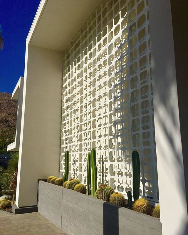 Some architectural features of MidCentury modern#mcm #breezeblocks #screenwalls #cactus #architectural #midcenturymodern #realestate #malibu #to #palmsprings #m2ps #bre01978129 #localrealtors - posted by Glam Life Real Estate ... https://www.instagram.com/glamliferealestate - See more Real Estate photos from Local Realtors at https://LocalRealtors.com