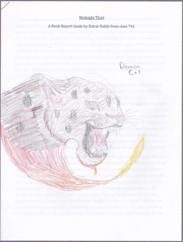 Demon Cat, by Sidrat.