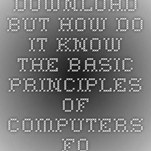 Download but how do it know the basic principles of computers for download but how do it know the basic principles of computers for everyone ebook pdf pdf code pinterest ebook pdf fandeluxe Images