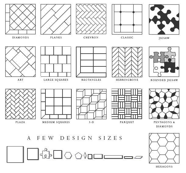22 best Tile patterns images on Pinterest | Tile patterns ...