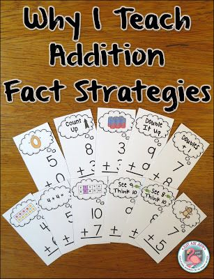 Learning and applying basic addition fact strategies is an important stage in developing fact fluency. Check out the fabulous freebie included in this post!
