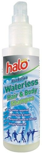For the run commute | Halo Proactive Waterless Hair & Body Wash