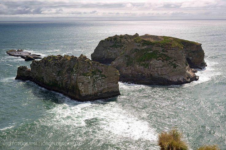 Acantilados Islotes - Punta Pirulil (Isla de Chiloe)
