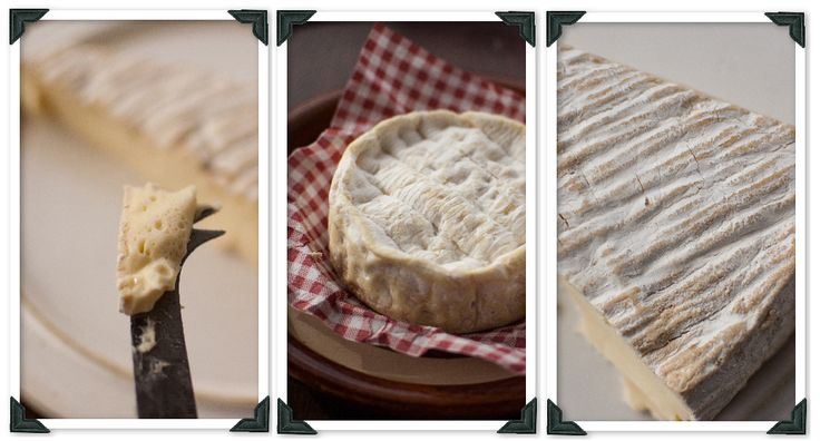 The real deal, gooey, smelly, yummy Brie de Meaux and Camembert Normandie