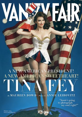 Vanity Fair: Tina Fey Drops 30 Pounds, Is Scarred For Life
