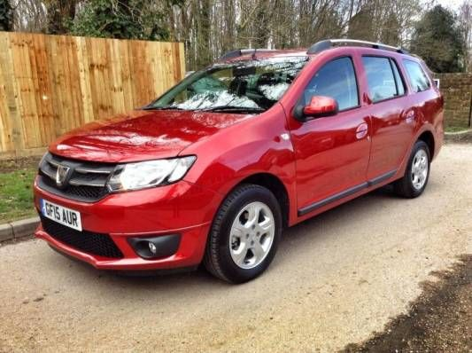 Used 2015 (15 reg) Red Dacia Logan 1.5 dCi Laureate 5dr for sale on RAC Cars