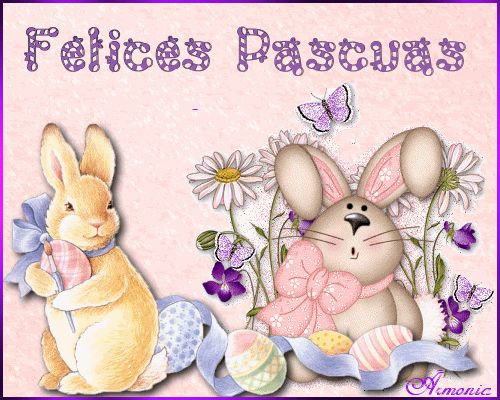 Conejos de Pascua Animados 10