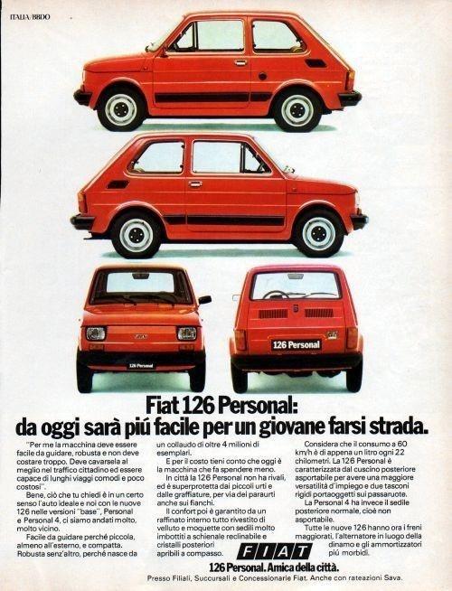 Fiat126 Personal adv