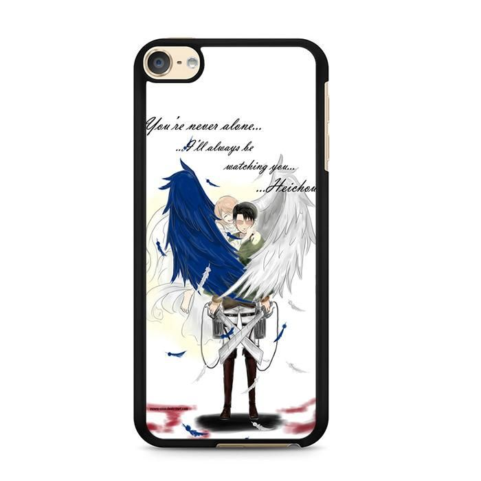 now available Shingeki No Kyoji... on our store check it out here! http://www.comerch.com/products/shingeki-no-kyojin-levi-x-petra-wings-quotes-ipod-touch-6-case-yum8635?utm_campaign=social_autopilot&utm_source=pin&utm_medium=pin