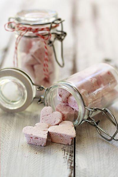 Chocolate Raspberry Vanilla Bean Marshmallows