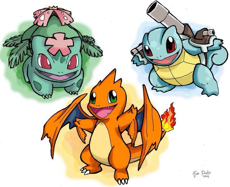 pokemon kanto starters mega - photo #16