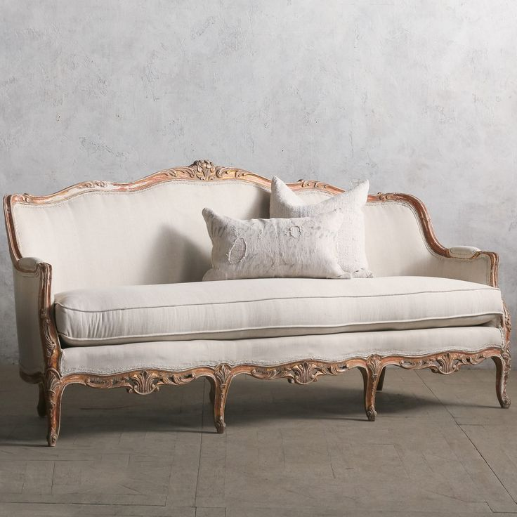 Eloquence One of a Kind Vintage Daybed Louis XV Gesso