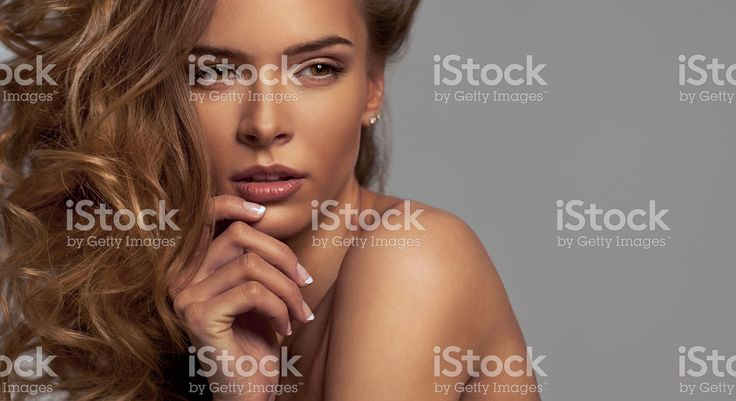 Young beautiful woman posed for camera royalty-free stock photo