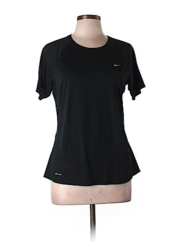Nike Women Active T-Shirt Size L