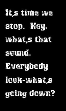 Buffalo Springfield - For What It's Worth - song lyrics, song quotes, songs, music lyrics, music quotes