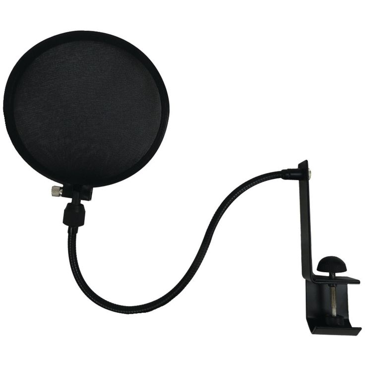 Nady Microphone Pop Filter With Boom & Stand Clamp